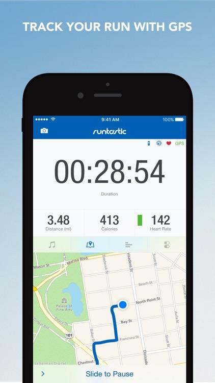 Runtastic PRO Running, Jogging and Fitness Tracker screenshot-0