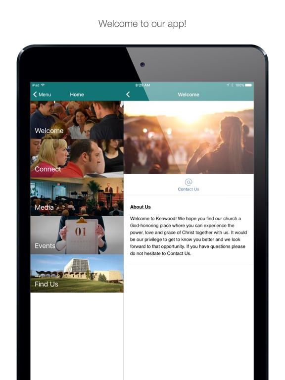 iPad Image of KenwoodBaptist Ohio