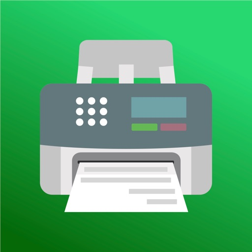 JotNot Fax from iPhone application logo
