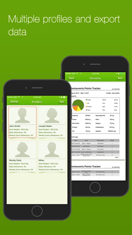 Restaurants Points Tracker - Food Score Calculator screenshot-4