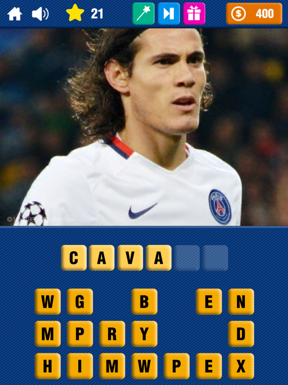 Soccer Quiz - Guess the Famous Football Player! screenshot