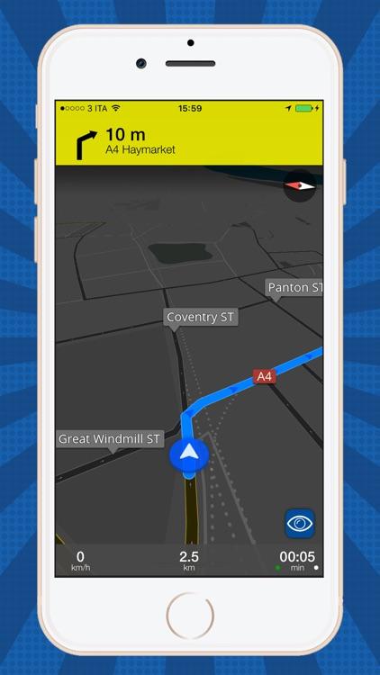 USA Offline map GPS navi screenshot-3