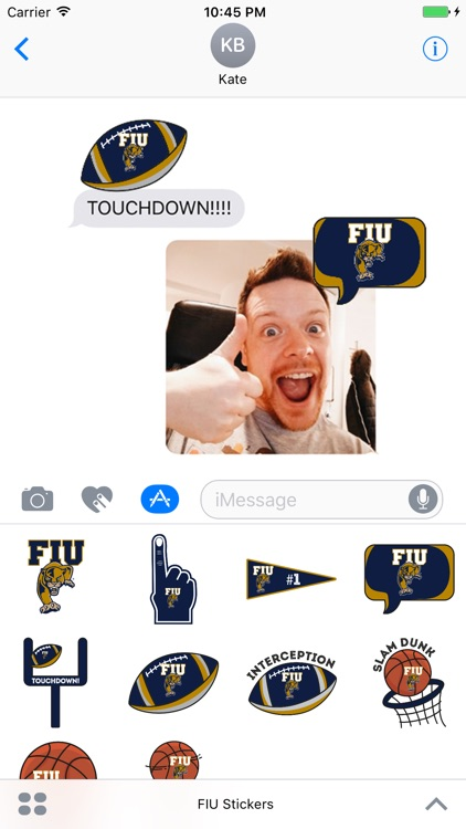 FIU Stickers for iMessage