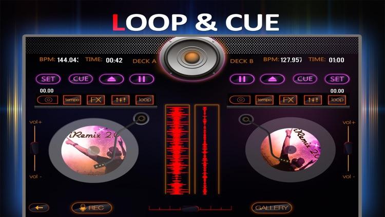 iRemix 2.0 - Portable DJ Music Mixer & Remix Tool