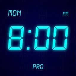 Visual Clock Pro - Simple Digital Clock Display