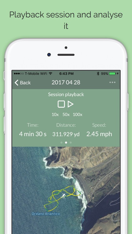 Swimming Tracker for Open Waters screenshot-3