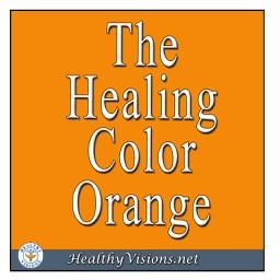 Healing Color Of Orange for iPad