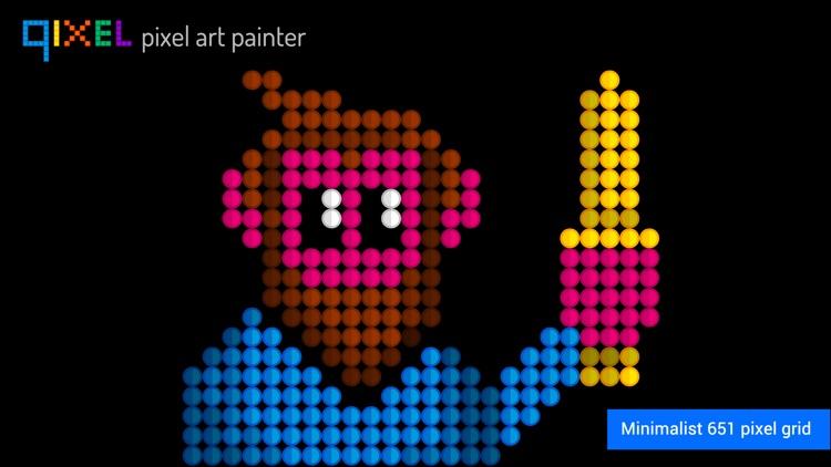 Qixel HD : Pixel Art Painter screenshot-3