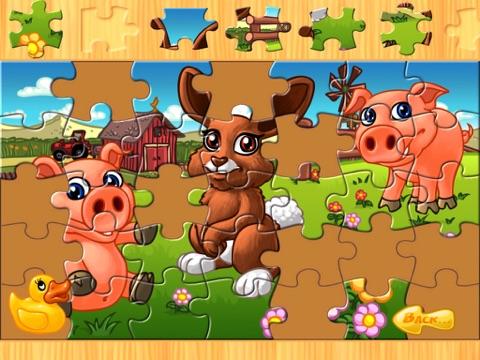 子供のための動物のパズル 農場 Animal Puzzleのおすすめ画像2