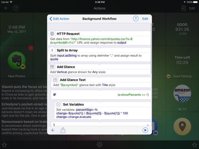 Alloy - launcher and automator Screenshot