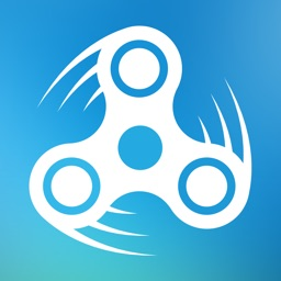 Spin a Finger Spinner: calm and stress relief game