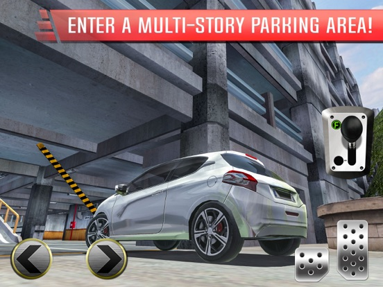 Multi Level Parking Simulator на iPad