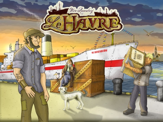 Le Havre (The Harbor) на iPad