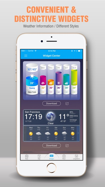 Amber Weather-Fancy Weather Widgets Forecast AQI screenshot-3