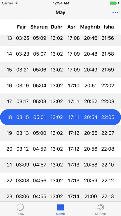 London Prayer Times screenshot-1