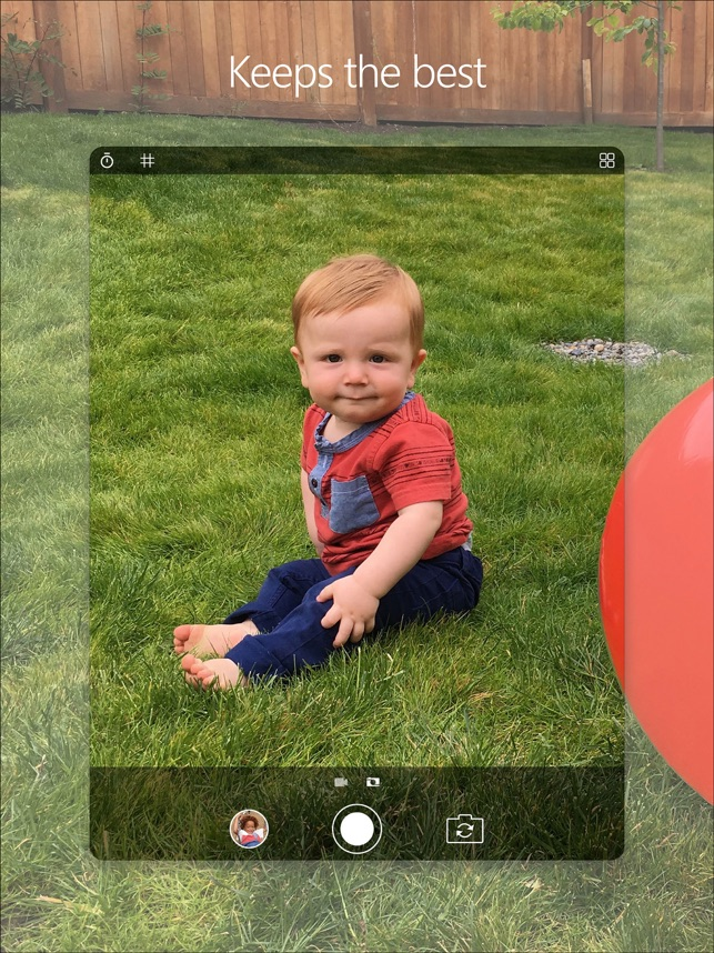 Microsoft Pix Camera Screenshot