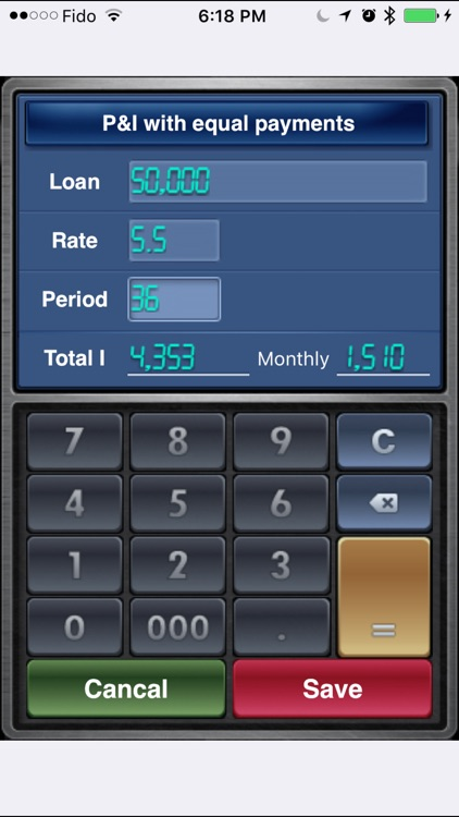 EZ Loan Calculator screenshot-0