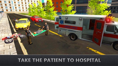 Real Ambulance Rescue Driving - Car Driver Game screenshot four
