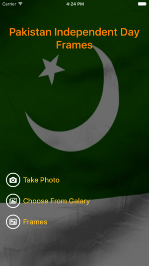 Pakistan Independence Day Photo Frame on the App Store