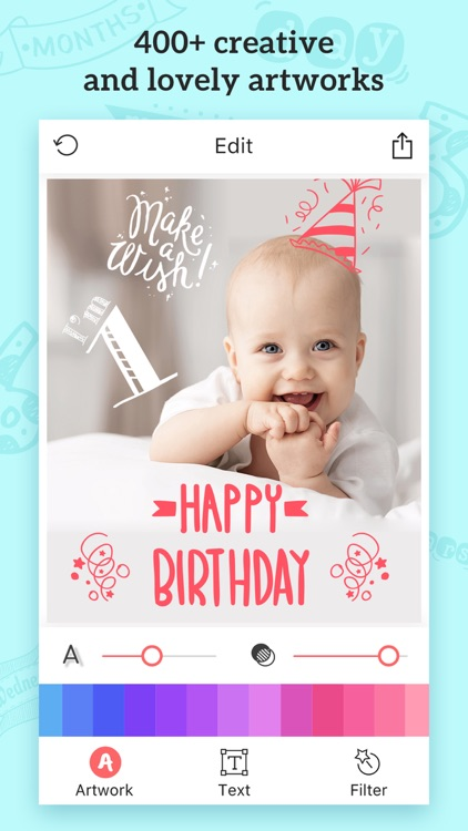 Baby Photos – Pregnancy Pic Maker & Baby Milestone screenshot-3
