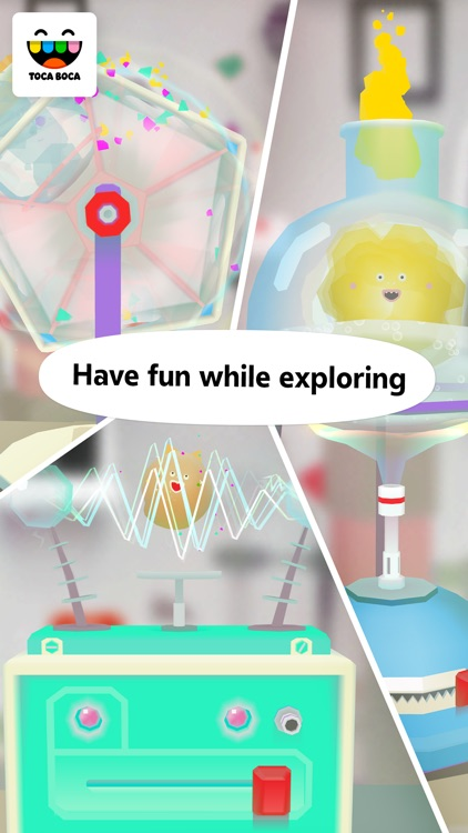 Toca Lab: Elements screenshot-4
