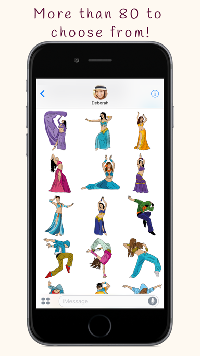点击获取DanceMoji Emoji & Stickers
