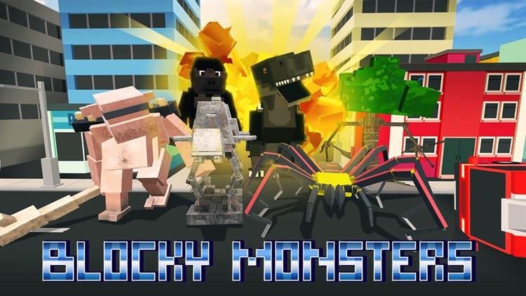 Blocky Monsters Smash