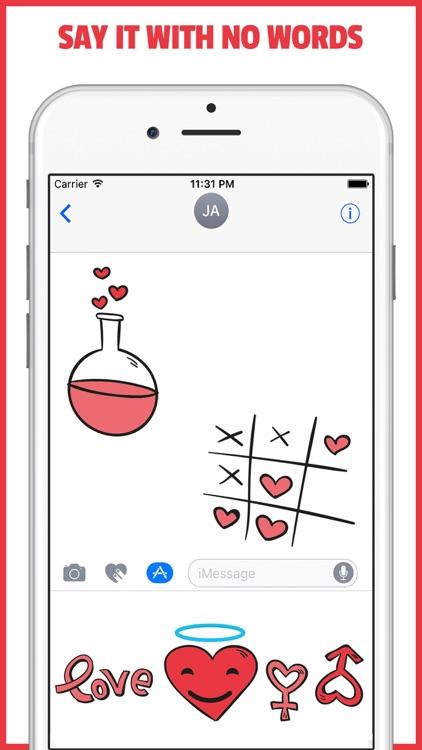 LOVEJI - Flirt Dating & Relationship Emoji App