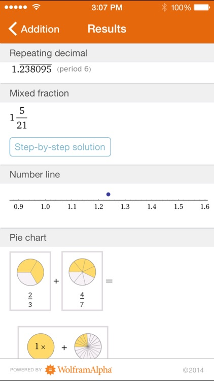 Wolfram Fractions Reference App