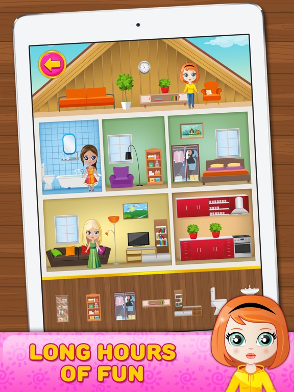 Doll House Decorating Game App Price Drops