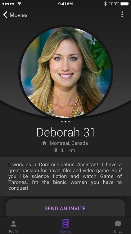 Cinenow - Dating app
