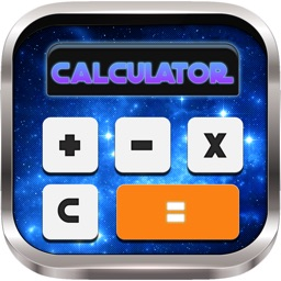 Calculator Wallpaper Keyboard for Galaxy and Space