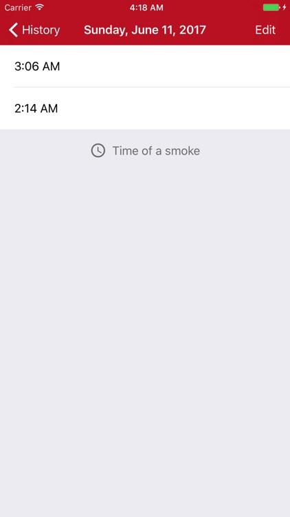 Smoker's Diary screenshot-3