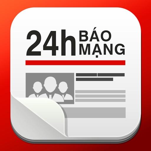Báo Mạng 24h - Đọc báo mới, tin tức online iOS App