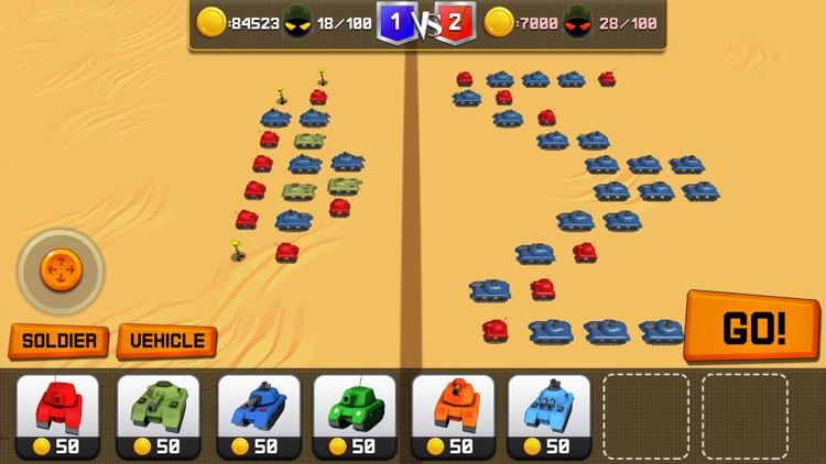 Stickman Battle Simulator 3D screenshot-4