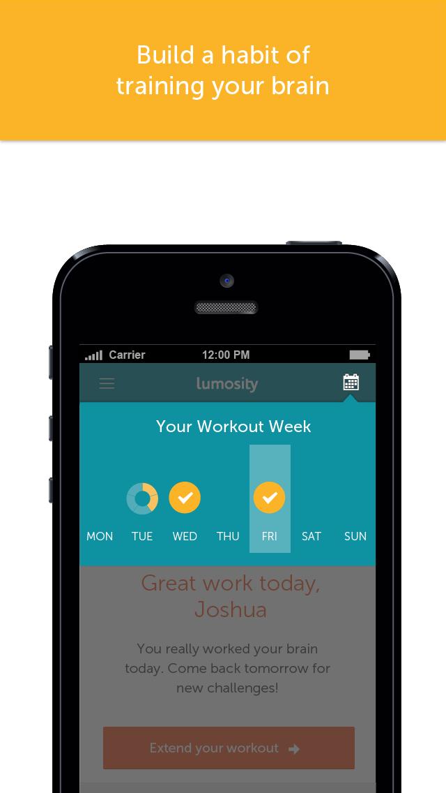 Screenshot for Lumosity – Latihan Otak in Malaysia App Store