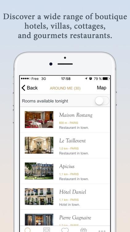 Relais & Châteaux screenshot-3