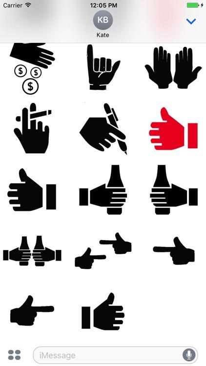 HandShake Stickers Pack screenshot-3