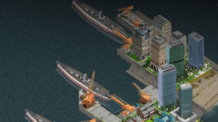 Naval City™ screenshot-4