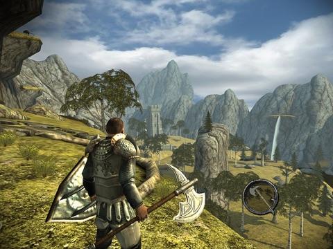 Ravensword: Shadowlands для iPad