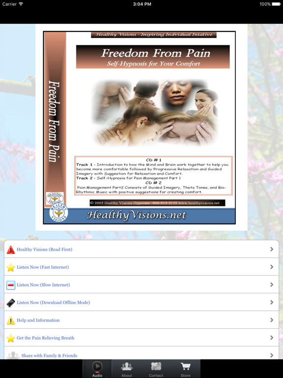 Freedom From Pain for iPad | App Price Drops