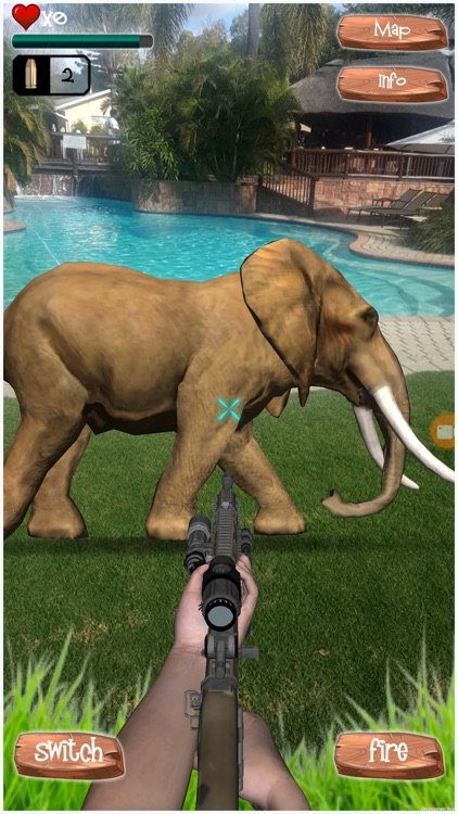 VirtuHunt – Hunt wild animals in augmented reality