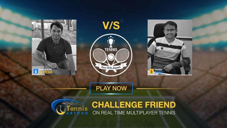 Tennis Multiplayer screenshot-3