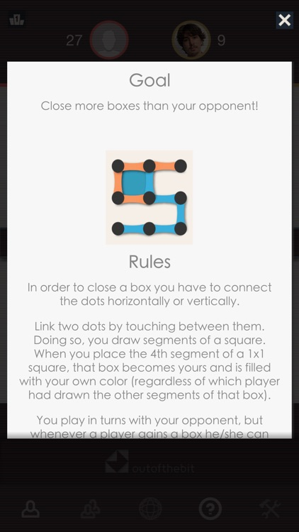 Dots and Boxes - Classic Board Games screenshot-3