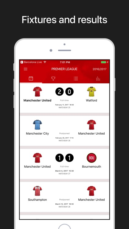 MU Live – Scores & News for Manchester United screenshot-3