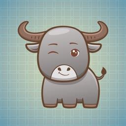 Sticker Me Cute Buffalo