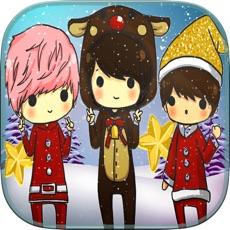 Activities of Frozen Santa Christmas Coloring Book