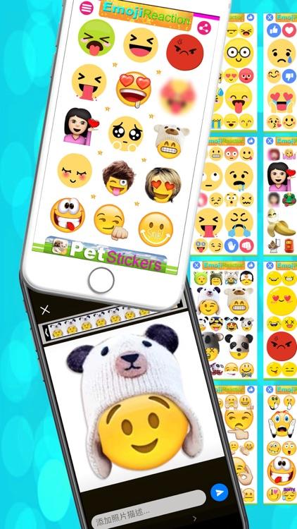 Emotion Stickers-Emoji Reaction Stickers