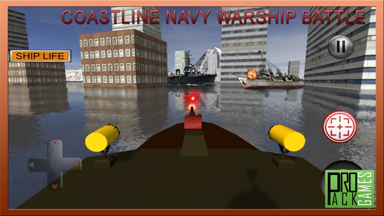 Coastline Navy Warship Fleet - Battle Simulator 3D screenshot-3