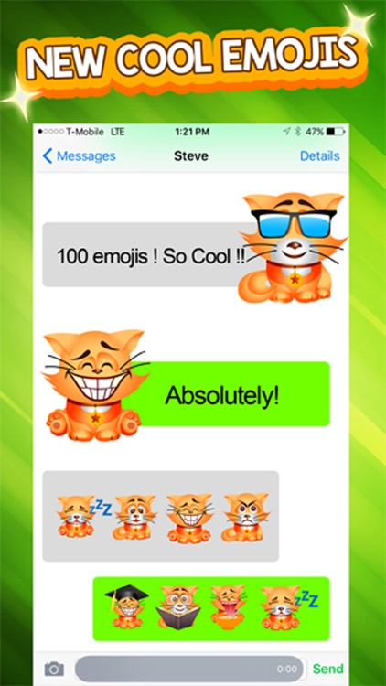 PetMoji - Kitty Emoji & Stickers screenshot-1
